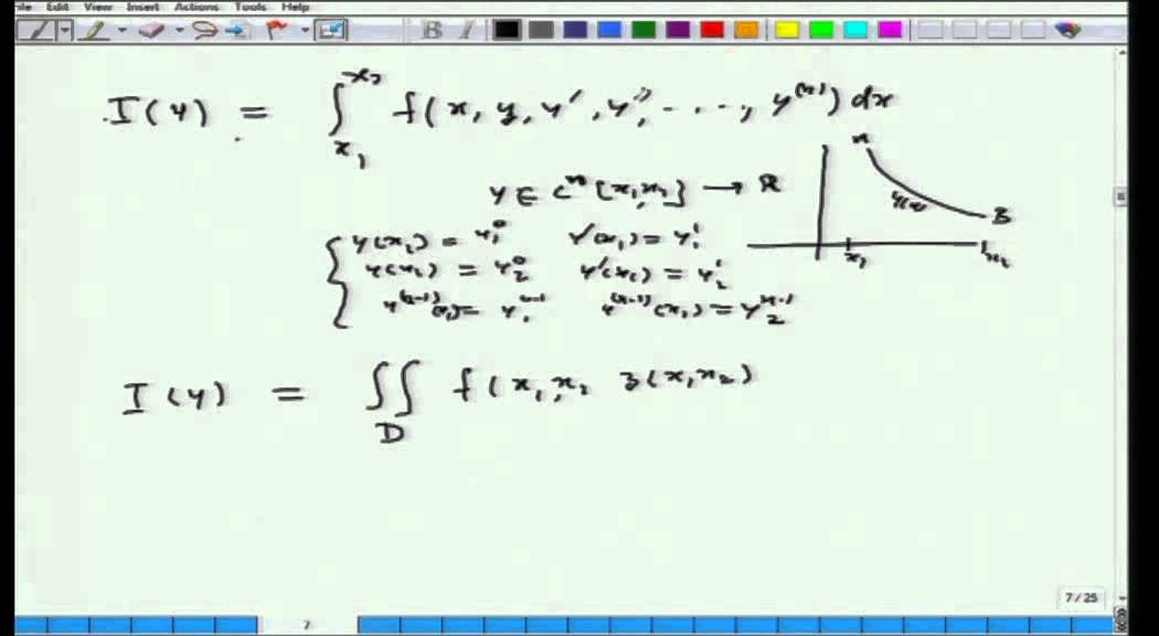 Mod-01 Lec-01 Calculus of Variations and Integral Equations