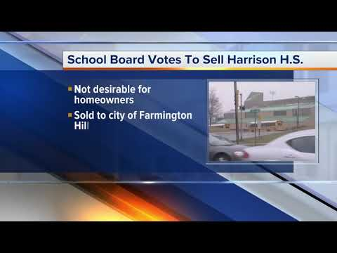 Farmington School Board votes to sell Harrison High School