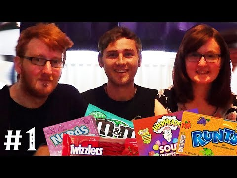 3 Gamers Eat American Candy! - Part (1/2)