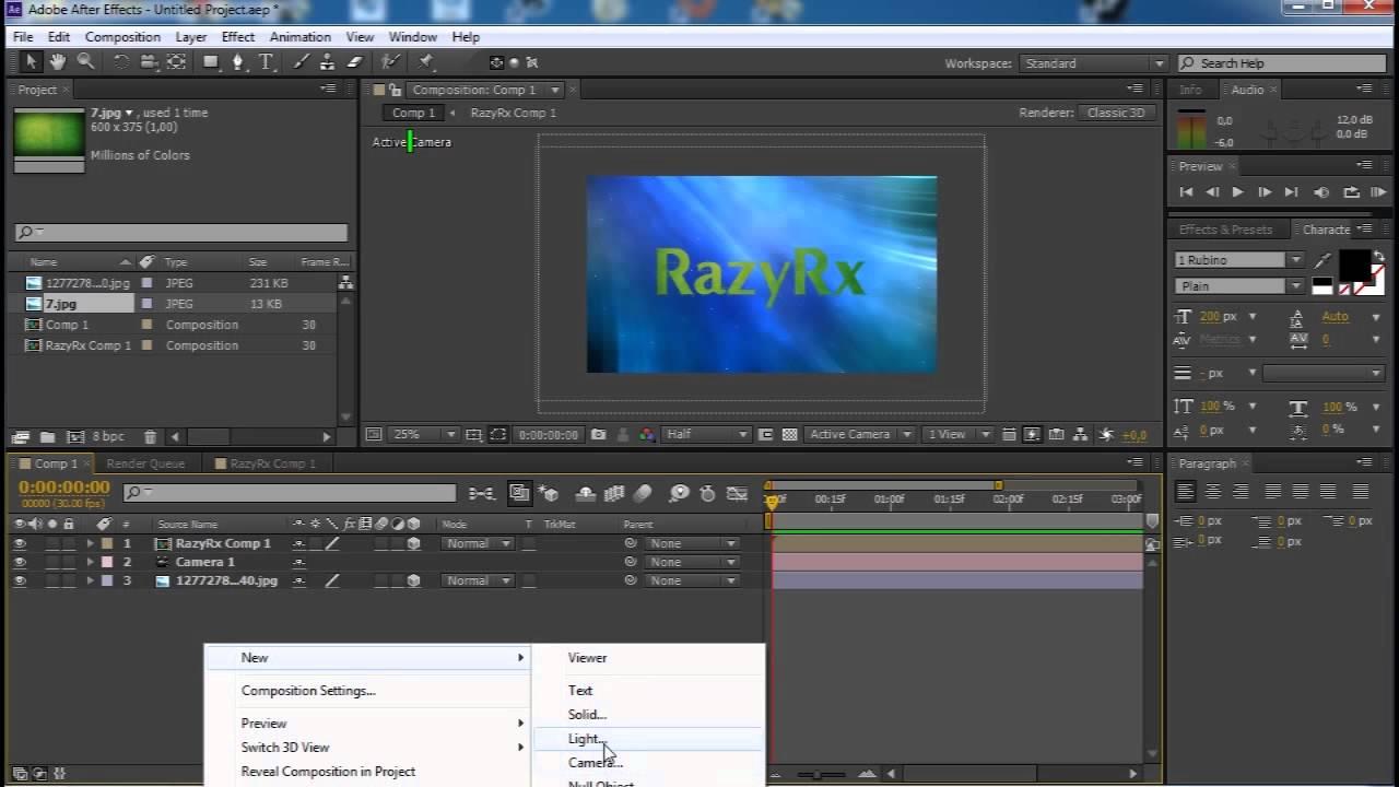 Adobe after effects как сделать 999