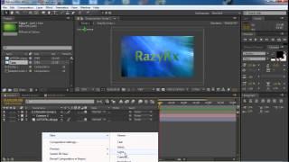 Урок 3 Adobe After Effects как сделать интро