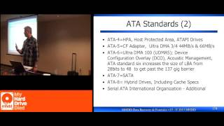 Data Recovery Class: Data Recovery Communications ATA Standards