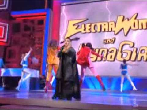 Cyndi Lauper - Electra Woman & Dyna Girl