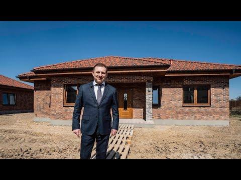 """Одноэтажный коттедж """"под ключ"""" в поселке Капитолий, современный проект с тремя спальнями"""