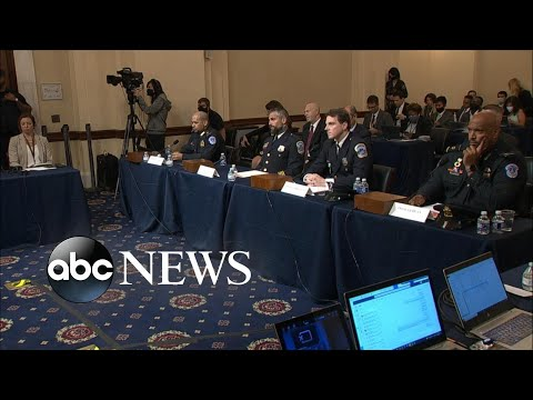 Capitol Police officers give closing statements on 1st day of Jan 6. hearings