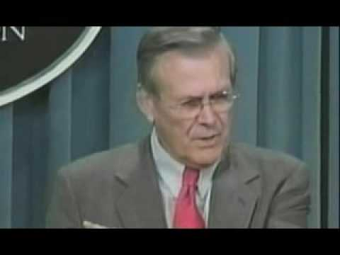 Donald Rumsfeld Unknown Unknowns !