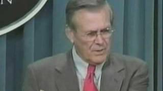 Donald Rumsfeld Unknown Unknowns !
