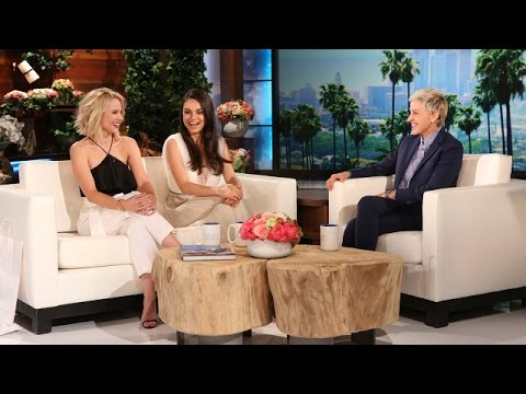 Kristen Bell and Mila Kunis Talk Kids