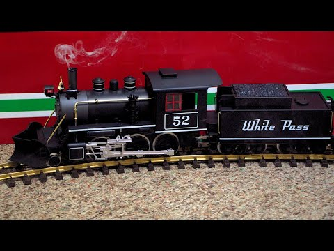 G Scale Model Steam Train With Smoke & Sounds
