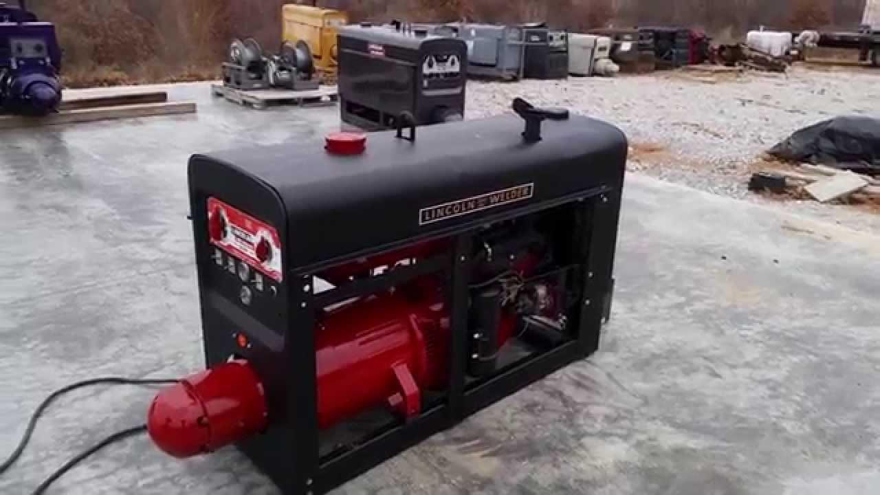 Lincoln Welder 1970 SA200 Pipeliner K6090 Red Face SOLD New Rebuilt Engine