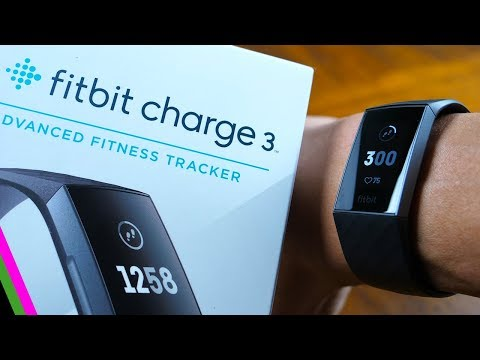 Fitbit Charge 3 - First Impressions, Setup And First Test!