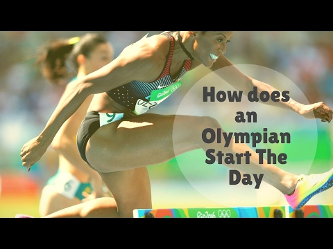 My Morning Routine: How does an Olympian Start the Day?