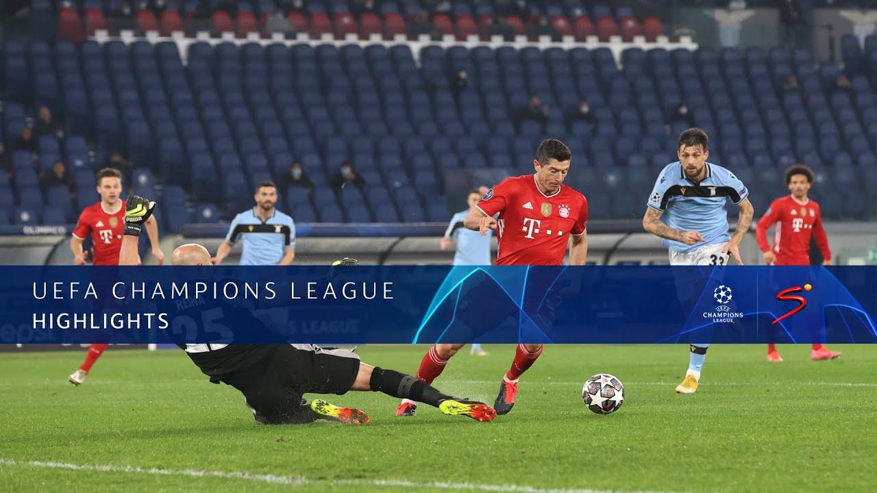 UEFA Champions League | Round of 16 | SS Lazio v Bayern Munich | Highlights
