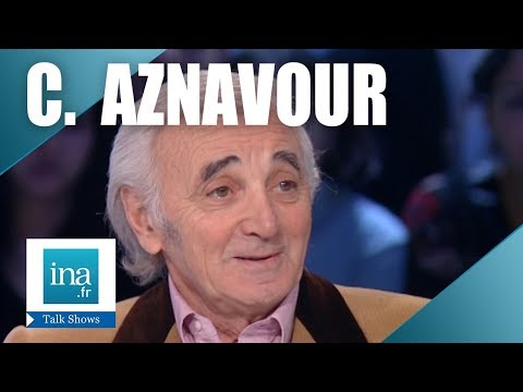 Interview biographie Charles Aznavour : 2ème partie - Archive INA