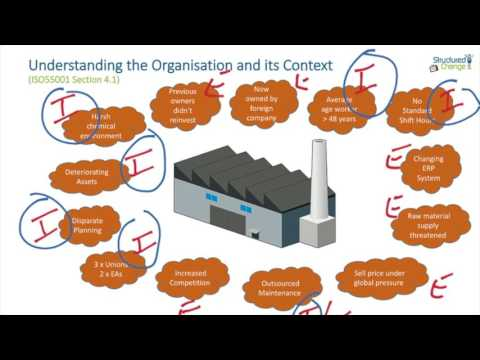 Understanding the Context of an Organization