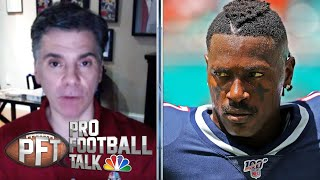 Teams hesitant to sign Antonio Brown with suspension looming | Pro Football Talk | NBC Sports