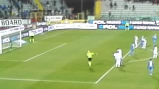 Empoli Udinese rigore sbagliato da saponara