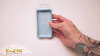 Bumper bleu-ciel/blanc pour Apple Iphone4 - store.logic-sunrise.com