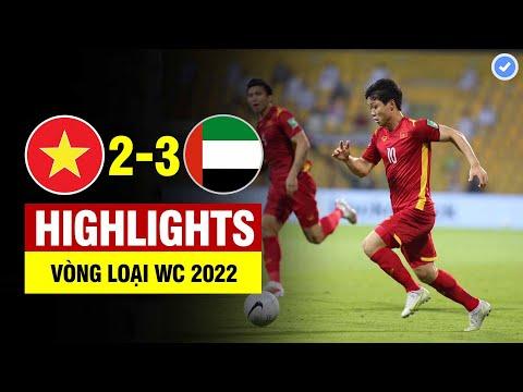 Highlights Việt Nam vs UAE   Tiến Linh Minh Vương thăng hoa khiến UAE sợ xanh mặt-VN làm lên lịch sử