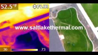 UAV R/C Helicopter Aerial Thermography - Aerial Thermal Imaging