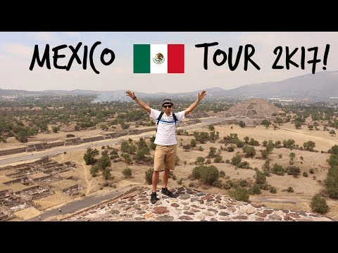 MEXICO TOUR VLOG! What to do in Mexico city?!