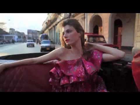 Angela Lindvall - VIVA CUBA - Vogue TV (Vogue.com UK)