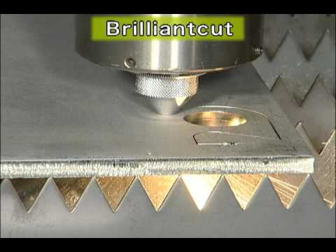 Mitsubishi Laser HVII-series SUS304 t10mm Brilliant Cutting