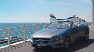 Mercedes-Benz : Helicopter, Yacht & S 500 Cabriolet