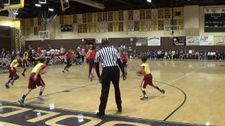 2017 TYBL Cavs vs. Blazers 5th Grade Division Playoffs 2nd Rd. part. 2