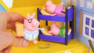 बच्चों के लिए पूर्वस्कूली सीखना मज़ा Peppa Pig सोते समय की कहानी