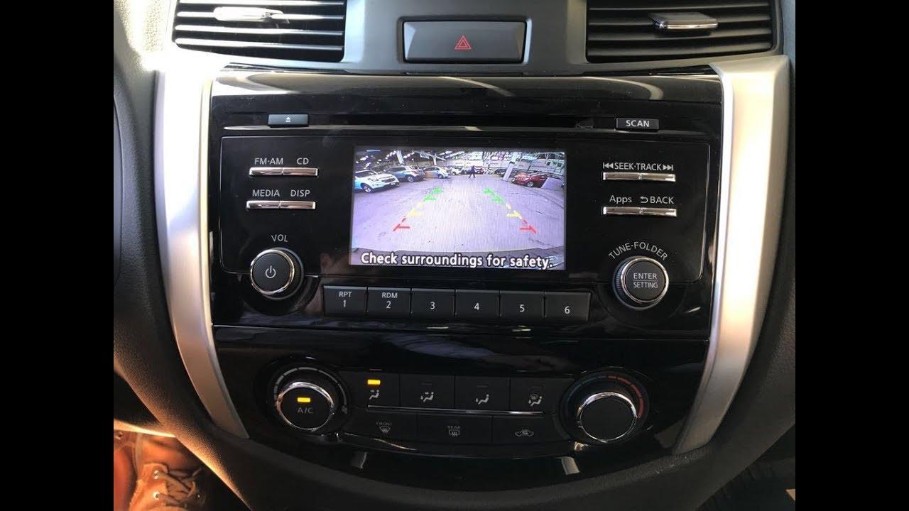 Instalación De Cámara Reversa Para Nissan Frontier NP300 ...