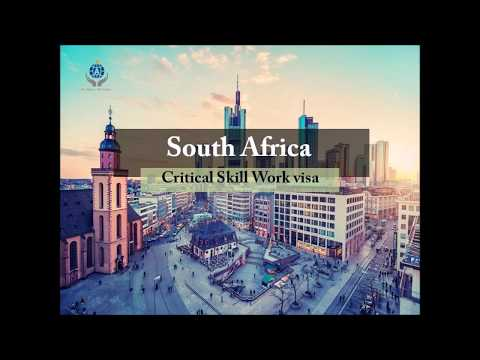 South Africa Critical Skill Work Visa | Aspire World Immigration Consultancy Services LLP
