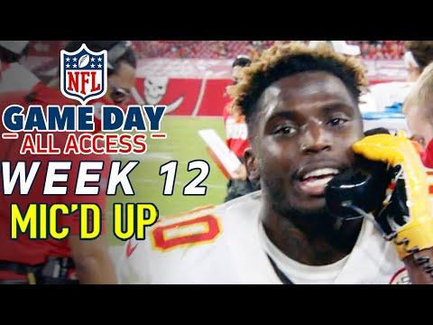 NFL Week 12 Mic'd Up, \