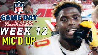 "NFL Week 12 Mic'd Up, ""Help is on the way!"" 