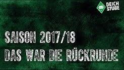 Saison 17/18: Die Werder-Rückrunde in Bildern