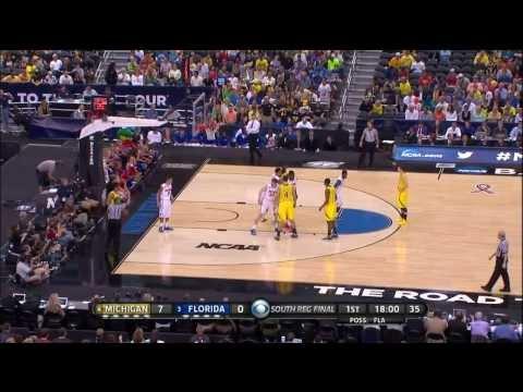 2013 NCAA Tournament Elite Eight #4 Michigan vs. #3 Florida