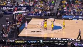 2013 NCAA Tournament Elite Eight #4 Michigan vs. #3 Florida