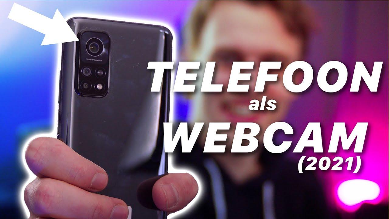 ZO kan jij je TELEFOON als WEBCAM gebruiken 2021  Uitleg  TechTime