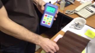 видео Ультразвуковой толщиномер Panametrics 27MG