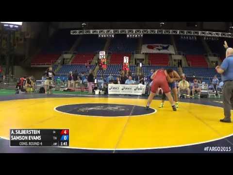 285 Cons. Round 4 - Samson Evans (Tennessee) Vs. Alexander Silberstein (Iowa)