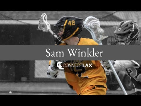 Sam Winkler Lacrosse Highlights | NJ 2020 | Att, Mid