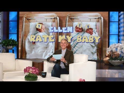 Ellen Rates Fans' Babies