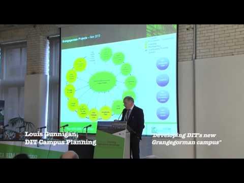 Louis Gunnigan, Team Leader Engineering & Built Environment, DIT Campus. 2013 CITA BIM Gathering