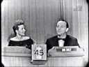Gale Storm on 'What's My Line' 1957