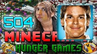 Minecraft: Hunger Games w/Mitch! Game 504 - Candy Christmas Killers!