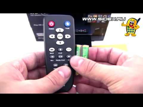 Sidex.ru: Видеообзор WD TV II HD Media Player (rus)