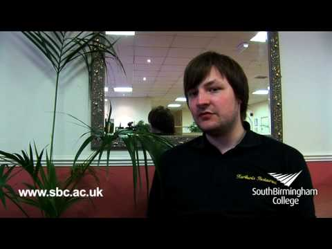 Catering at South Birmingham College