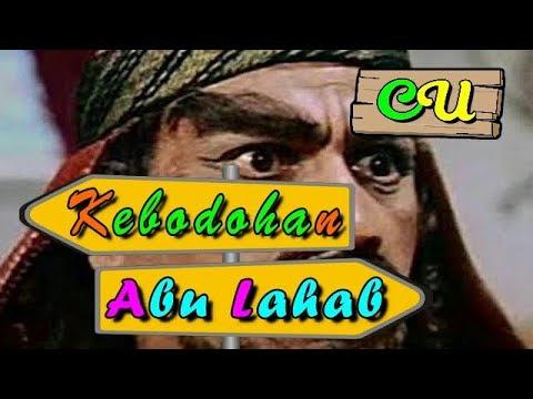 Kebodohan Abu Lahab