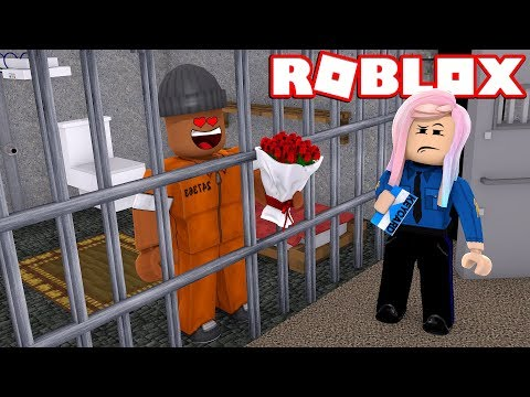 CRIMINAL FALLS IN LOVE WITH POLICE OFFICER IN ROBLOX JAILBREAK