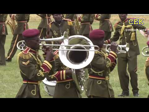 best parade display by the general service unit GSU Kenya
